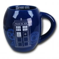 Doctor Who TARDIS 18oz Oval Mug
