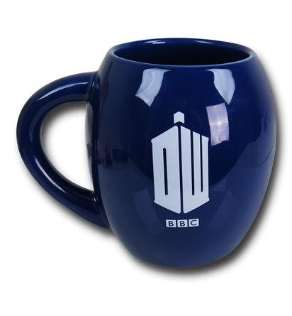 Doctor Who TARDIS 18oz Oval Mug