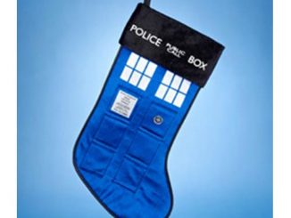 Doctor Who TARDIS 19-Inch Stocking