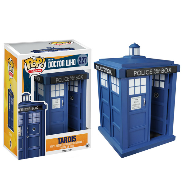 Doctor Who TARDIS 6-Inch Pop Vinyl Figure