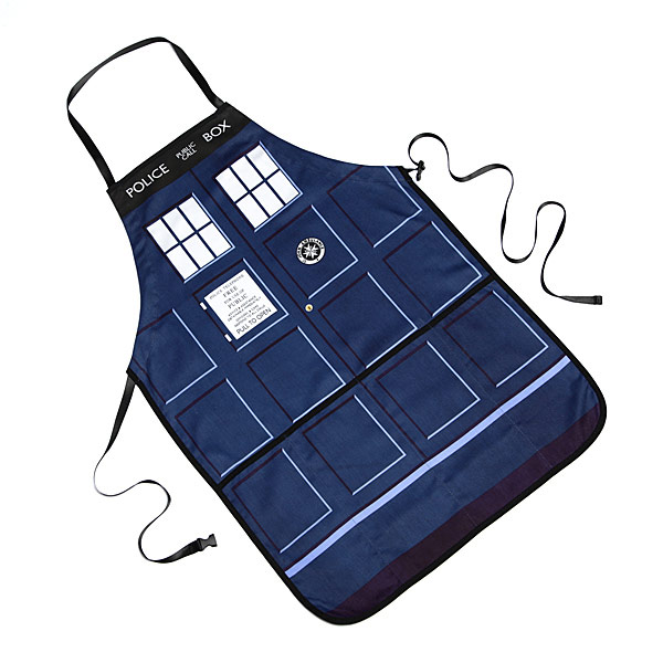 Doctor Who TARDIS Apron