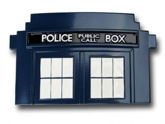 Doctor Who Tardis Belt Buckle