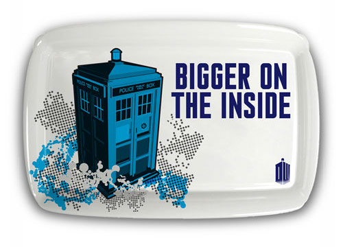Doctor Who TARDIS Bigger on the Inside Tray