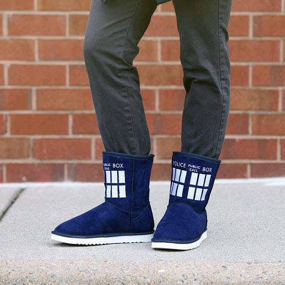 Doctor Who TARDIS Boots