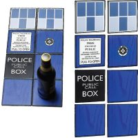 Doctor Who TARDIS Ceramic Coasters