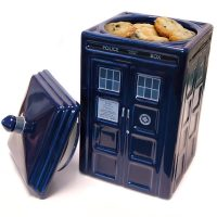 Doctor Who TARDIS Ceramic Cookie Jar