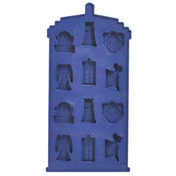Doctor Who TARDIS Chocolate Mold