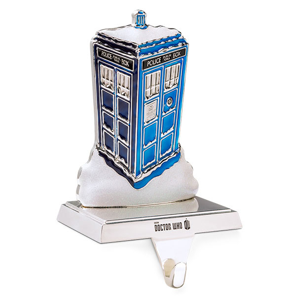 Doctor Who TARDIS Christmas Stocking Holder