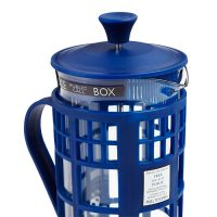 Doctor Who TARDIS Coffee Press Detail