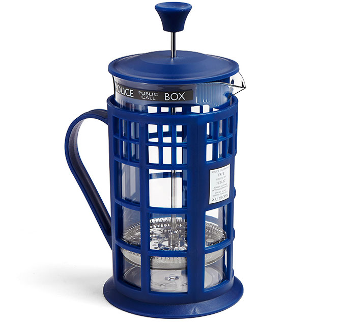 Doctor Who TARDIS Coffee Press