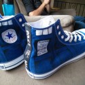 Doctor Who TARDIS Converse Shoes