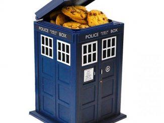 Doctor Who TARDIS Cookie Jar with Hidden Camera