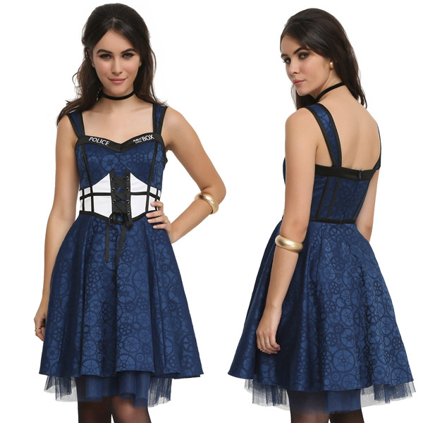 Doctor Who TARDIS Corset Dress