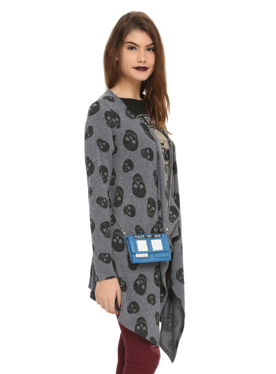 Doctor Who TARDIS Crossbody Bag with model