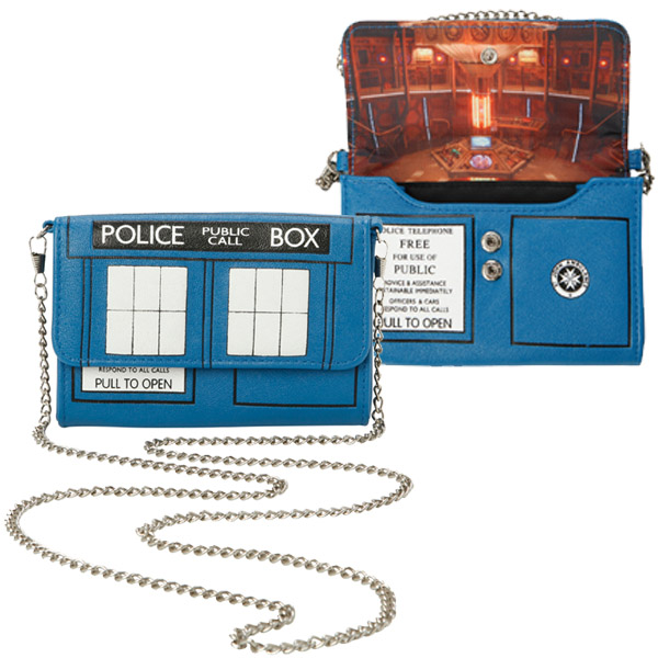 Doctor Who TARDIS Crossbody Bag