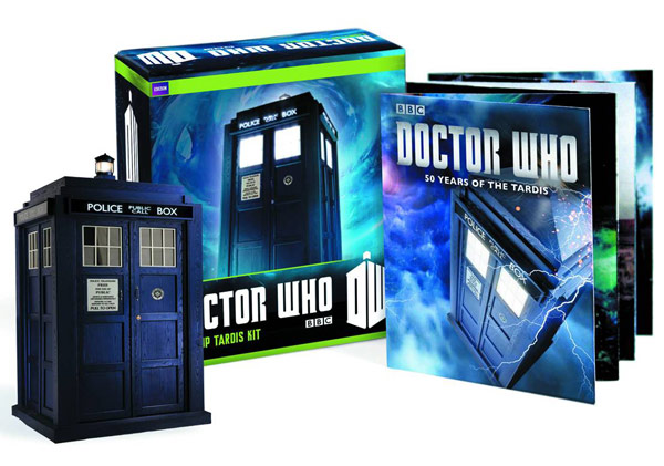 Doctor Who Build Your Own Tardis Game