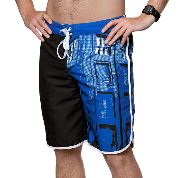 Doctor Who TARDIS Door Board Shorts