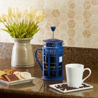 Doctor Who TARDIS French Coffee Press