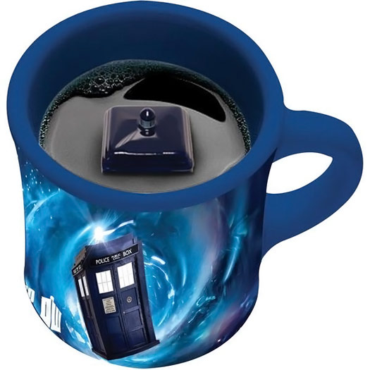 Doctor Who TARDIS Inside Mug