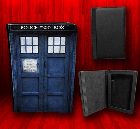 Doctor Who TARDIS Kindle Fire Leather Case