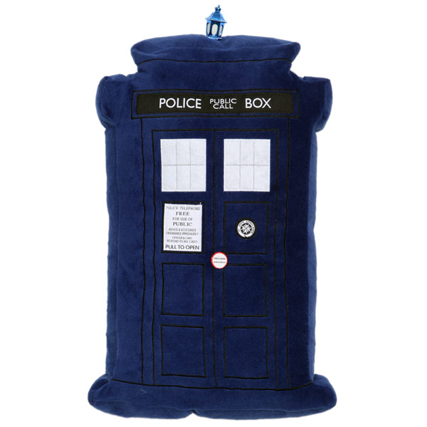 Doctor Who TARDIS Light Up Pillow