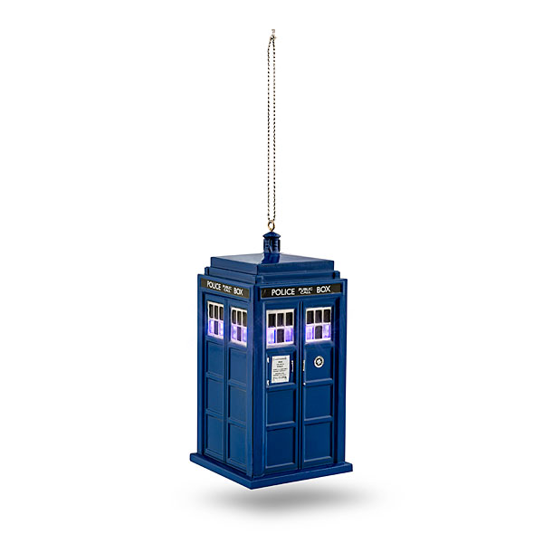 Doctor Who TARDIS Lighted Ornament