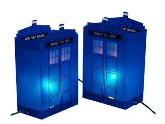 Doctor Who TARDIS Luminary Outdoor Decor