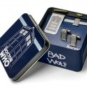 Doctor Who TARDIS Men's Jewelry Gift Set