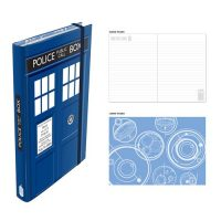 Doctor Who TARDIS Notebook