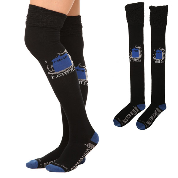 Doctor-Who-TARDIS-Over-The-Knee-Socks