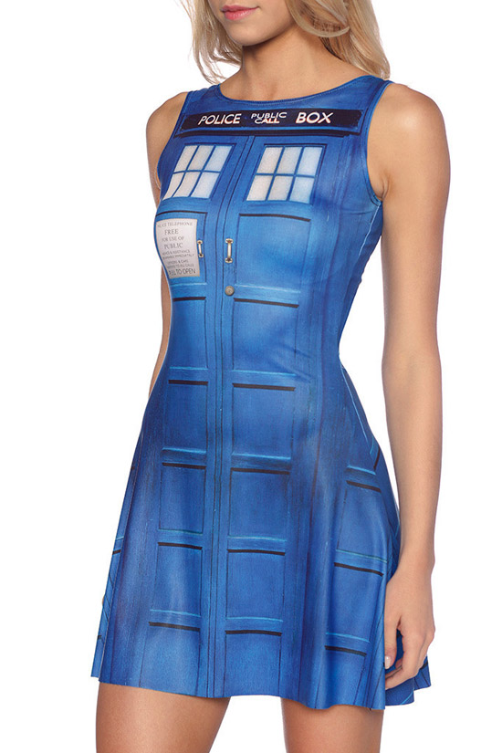 Doctor Who TARDIS Play Dress 1