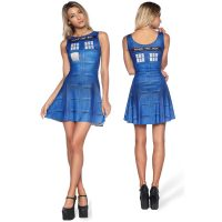 Doctor Who TARDIS Play Dress - small