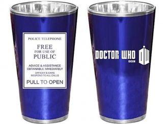 Doctor Who TARDIS Police Sign Glasses