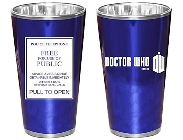 Doctor Who TARDIS Police Sign Glasses
