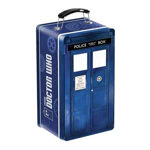 Doctor Who TARDIS Shaped Tin Tote