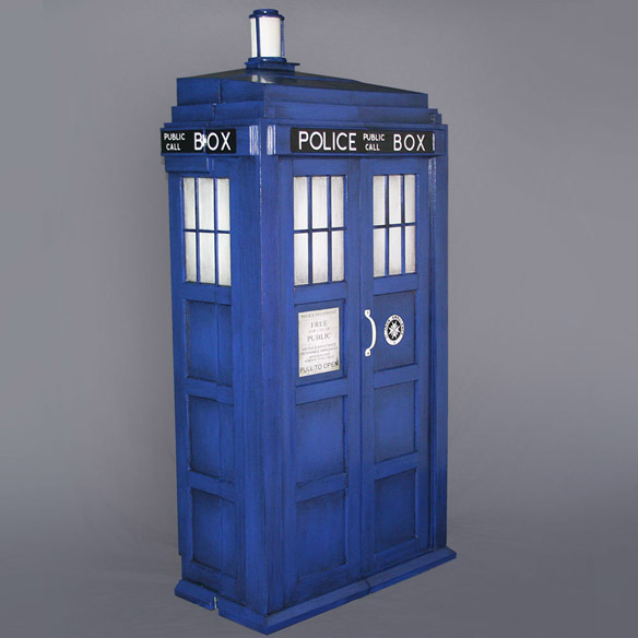 Doctor Who TARDIS Shelving System