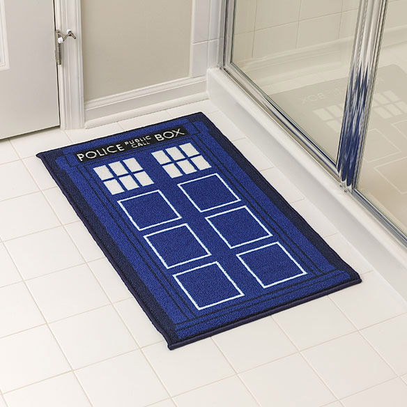 Doctor Who TARDIS Shower Mat