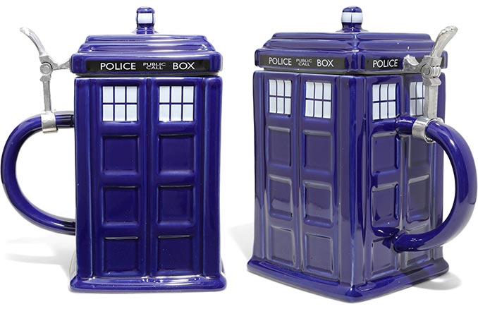 Doctor Who TARDIS Stein