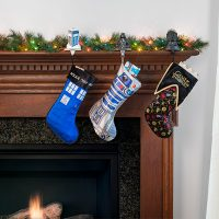 Doctor Who TARDIS Stocking Holder