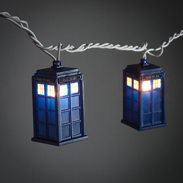 Doctor Who TARDIS String Lights