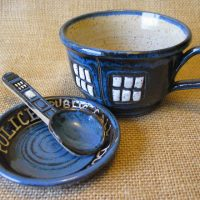 Doctor Who TARDIS Tea Cup