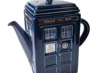 Doctor Who TARDIS Tea Pot