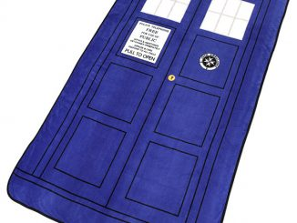 Doctor Who TARDIS Throw