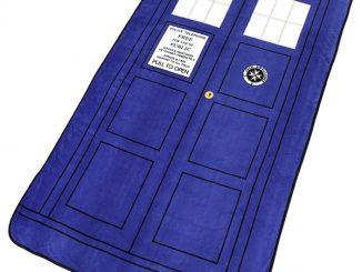 Doctor Who TARDIS Throw