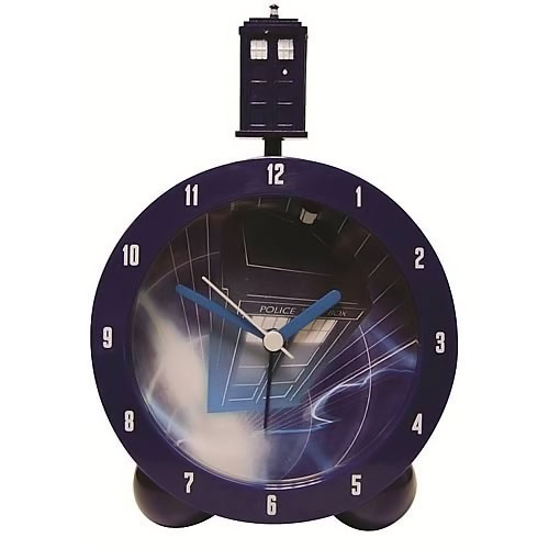 Doctor Who TARDIS Topper Alarm Clock