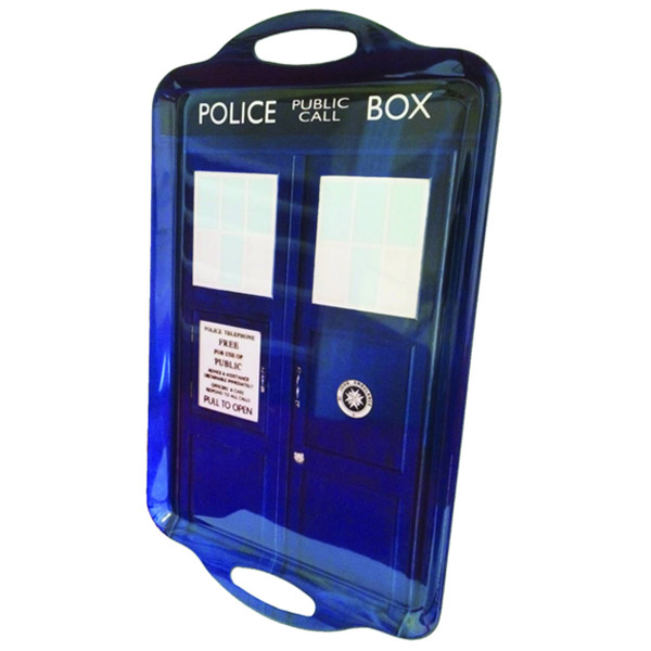 Doctor Who TARDIS Tray