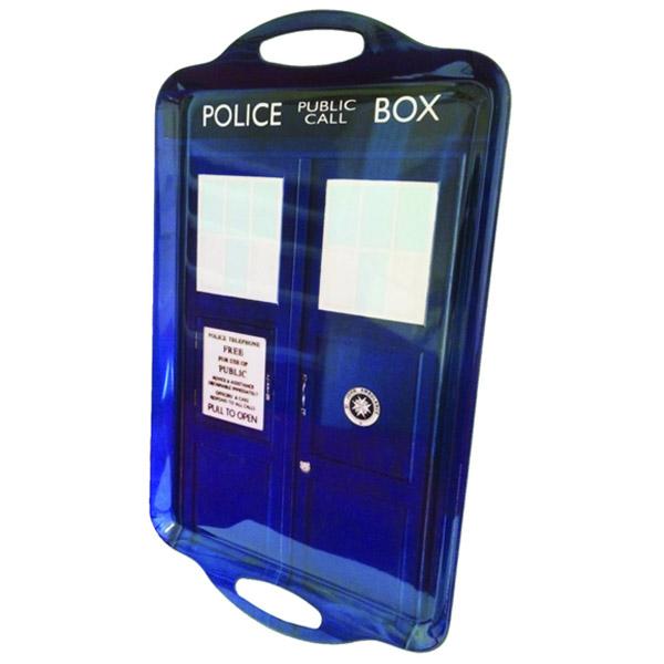 Doctor Who TARDIS Tray