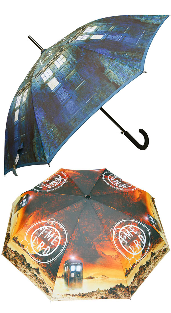 Doctor Who TARDIS Umbrellas