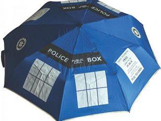 Doctor Who TARDIS Umbrella