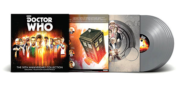Doctor Who TARDIS Vinyl Box Set